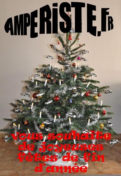 Joyeux noel 2013 avec amperiste.fr