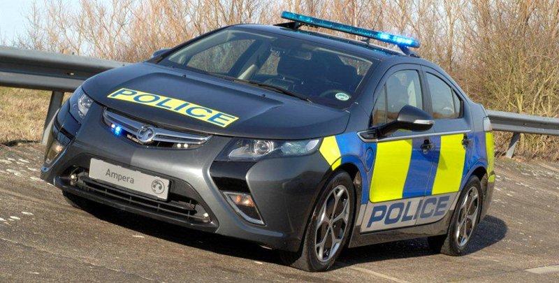 Vauxhall Ampera de police