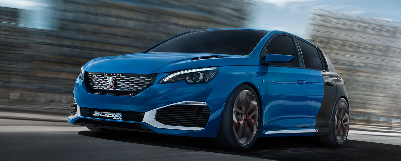 peugeot 308 r hybrid la rechargeable tr s concept. Black Bedroom Furniture Sets. Home Design Ideas