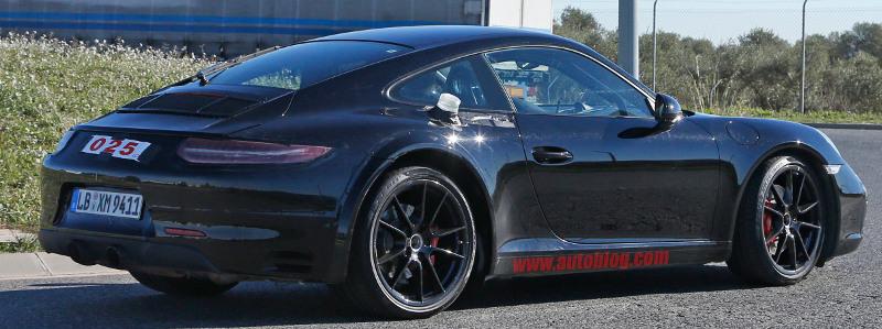 Porsche 911 hybride rechargeable