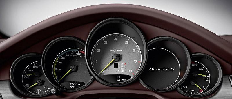Compteur Porsche Panamera hybrid