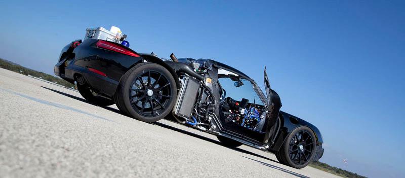Porsche 918 développement