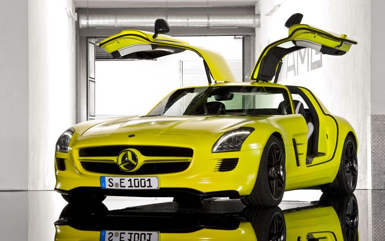 Mercedes AGM E-cell