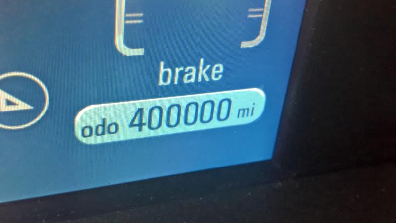 Erick Belmer 400 000 miles