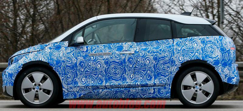 Spyshot BMW i3