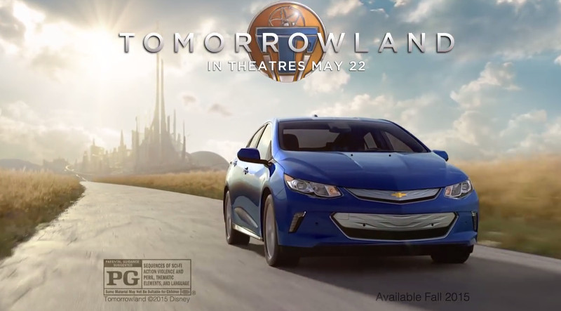 Chevrolet Volt 2016 tomorrowland à la poursuite de demain
