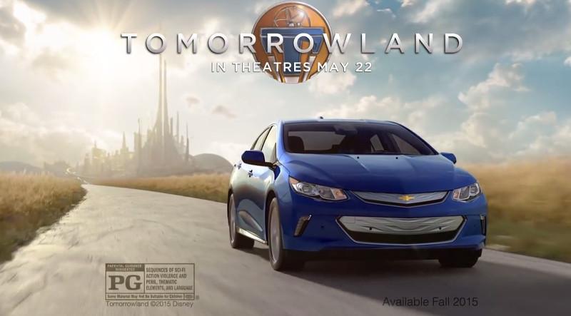 Chevrolet Volt 2016 tomorrowland à la poursuite de demain