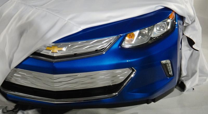 Apercu Chevrolet Volt 2016