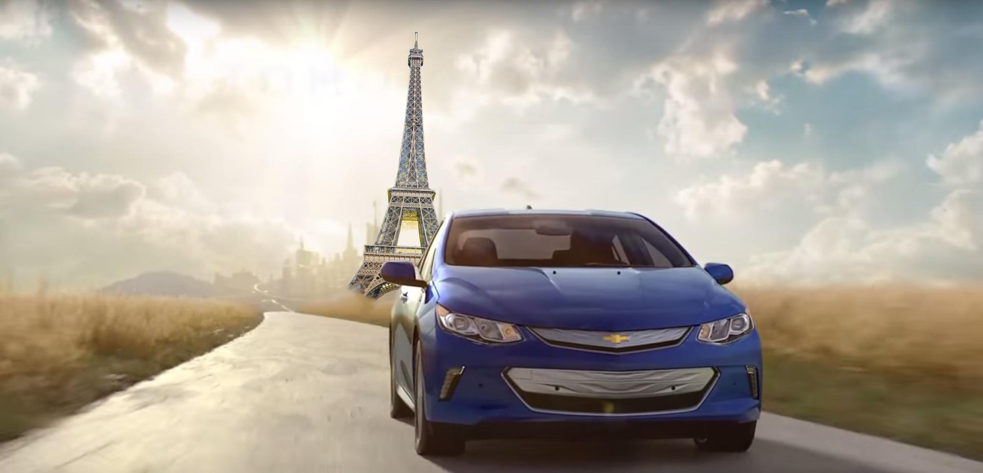 Chevrolet Volt 2 Tour Eiffel